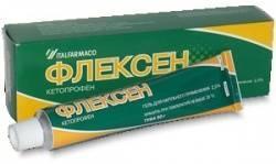 Флексен, гель д/наружн. прим. 2.5% 30 г №1